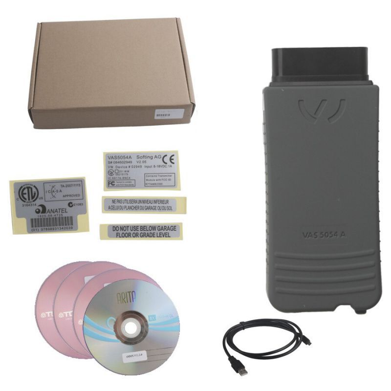 Best VAS 5054A ODIS V4.23 Bluetooth Support UDS Protocol With OKI Chip Multi-languages