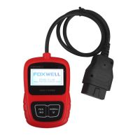 Foxwell CAN OBDII/EOBD Code Reader NT200 Support Multi-Languages and Update Free Lifetime